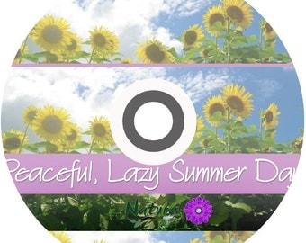 Peaceful Lazy Summer Birds & Farm Sounds Relaxation MP3 + Bonus Stress Relief