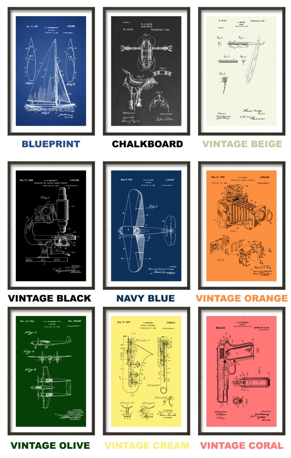 Entrancing 50 blueprint wall art inspiration of blueprint wall art blueprint wall art harley davidson motorcycle blueprint patent poster wall art malvernweather Choice Image
