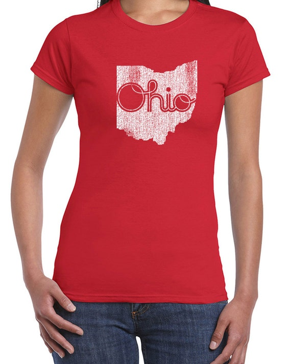 state of ohio script funny buckeye spirit pride hip by