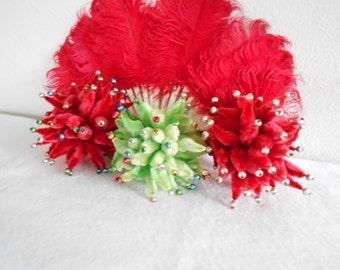 3 Christmas Chenille Balls