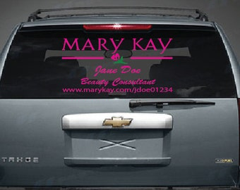 Mary Kay Etsy - Custom car decals houston   how to personalize