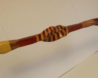 Catlinite peace pipe