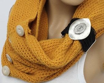 Knit Infinity ScarvesScarf Knit Infinity Scarf, Womens Knit Winter Scarves, , Knit Scarves,