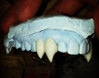 Dracula Fangs Hand Crafted to Fit Your Teeth