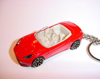3D Ferrari California custom keychain by Brian Thornton keyring key chain convertible