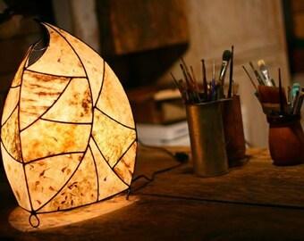 Unique handmade lamp
