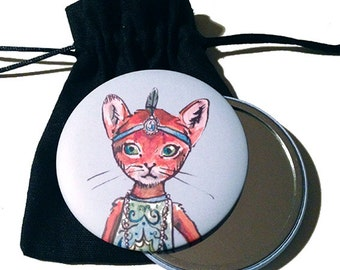 Fashion Cat #2 Mirror
