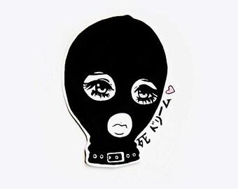 masked 死 bb sticker