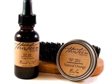 ultimate beard grooming kit beard oil balm wax by. Black Bedroom Furniture Sets. Home Design Ideas