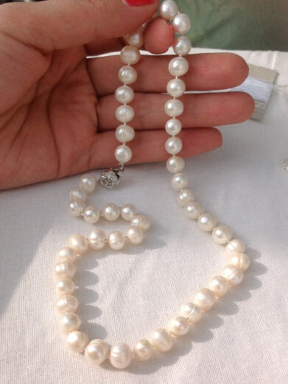 Sports Bikes For Sale >> Freshwater Pearl Necklace on sale Pearl Necklace by jewelryTang