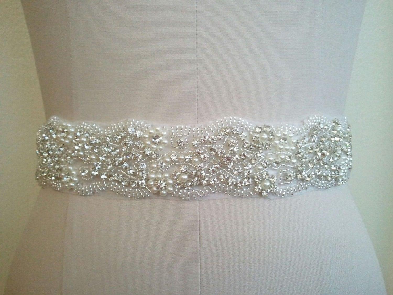 sale wedding dress sash belt bridal sash belt by