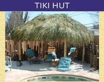 How To Build Your Own Tiki Hut Book Written by Tiki Kev