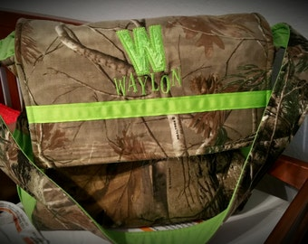 Realtree Camo Diaper Bag, Realtree Camoflauge Diaper Bag, Realtree XL Diaper Bag, Realtree Extra Large Diaper Bag, Custom Diaper Bag