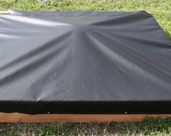 Brand New Child's Very Large Bench Sandbox with Cover, 7 Feet Square - Free Shipping