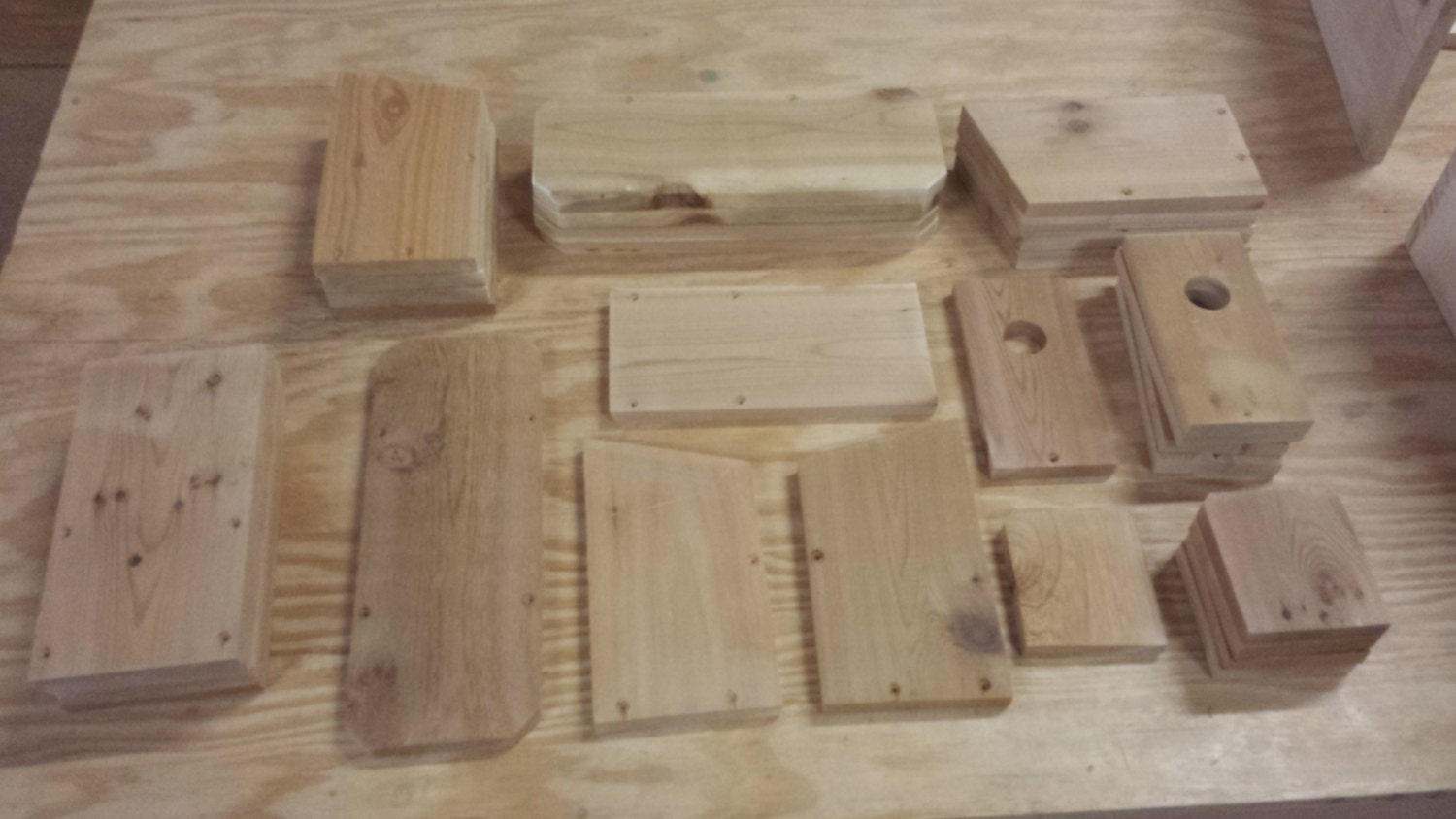 Build Your Own Bluebird Houses Kit To Assemble 5 Bird Houses