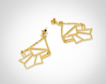 Earrings Golden Eden Alkalene