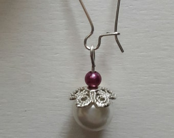 Earrings made barter hand. pretty pairs at low prices.