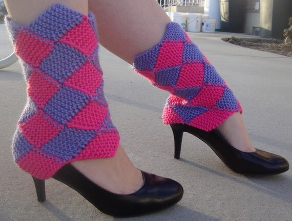 Classy Diamond Leg Warmers