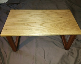 Timber lap table / laptop stand / bed table / tv dinner table / wooden table