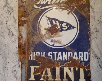 Vintage Lowe Brothers paint sign