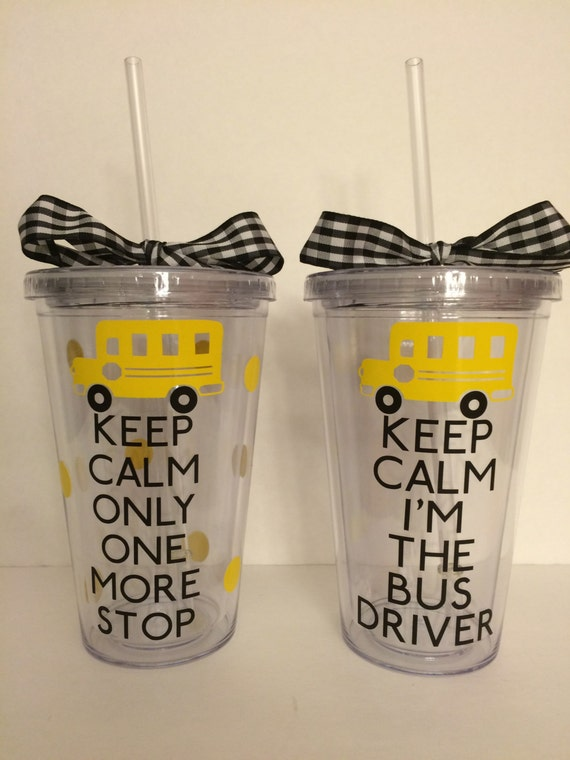 School Bus Driver Tumbler-End Of The Year-Bus Driver Appreciation ...