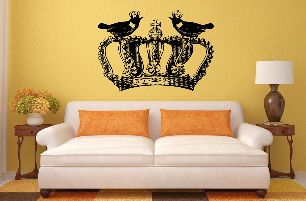 Decor decoration for girls bedroom cool decor side tables bedroom king and queen art prints his and her crowns modern wall decor amipublicfo Gallery