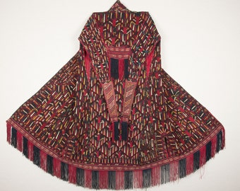 Antique TURKMEN Chyrpy Late 19th Early 20th c. id: 0174 Ships World Wide for FREE with UPS
