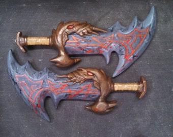 God of War: Kratos' Chaos Blades