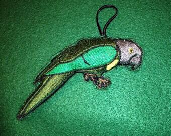 Custom bird keychain
