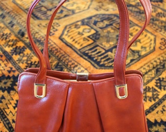 Brick Red Vintage Purse