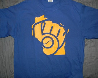 Milwaukee Brewers Inspired State Design