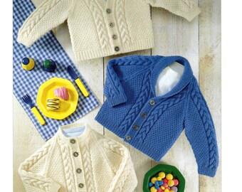 jackets 4 ply knitting pattern 99p pdf