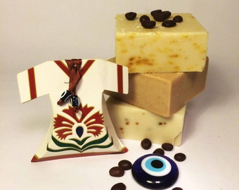 Hammam Natural Aromatic Soap Set