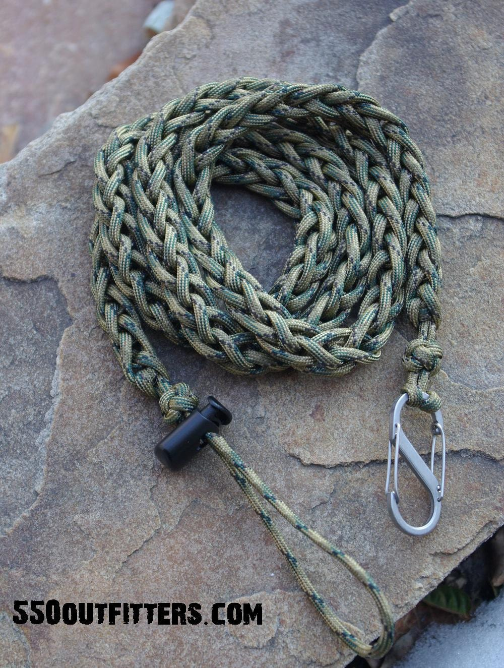 Series 2 fishing rod paddle leash by 550outfitter on etsy for Fishing rod leash