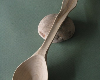 Wooden Spoon, Kitchen Utensil in maple, Hostess Gift, Gift for Her, Rustic Kitchen