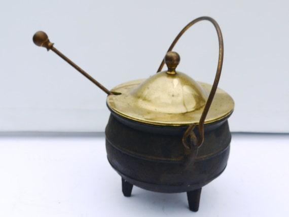 Horrifying Antique Cast Iron Fire Starter French Antique