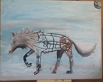 Wired Dire Wolf