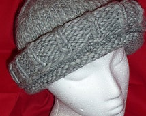 Perfect Chemo Hat KNITTING PATTERN Instant Download - OhSo Hat: Easy, Warm, Double Brimmed, Fast Weekend Knit, Heartfelt Gift
