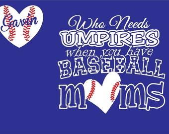 Baseball Spirit Shirt-Who needs Umpires