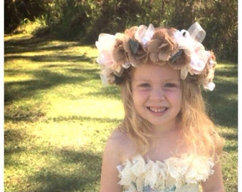 Flower Girl Wedding Halo