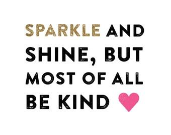 Sparkle and Shine • • •  Wall Art