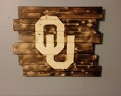 University of Oklahoma wall art