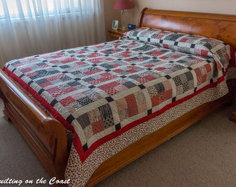 Queen Bed Quilt - Sewing with Mama