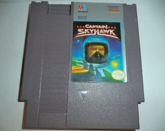 Nintendo NES Game Cartridge : Captain Skyhawk