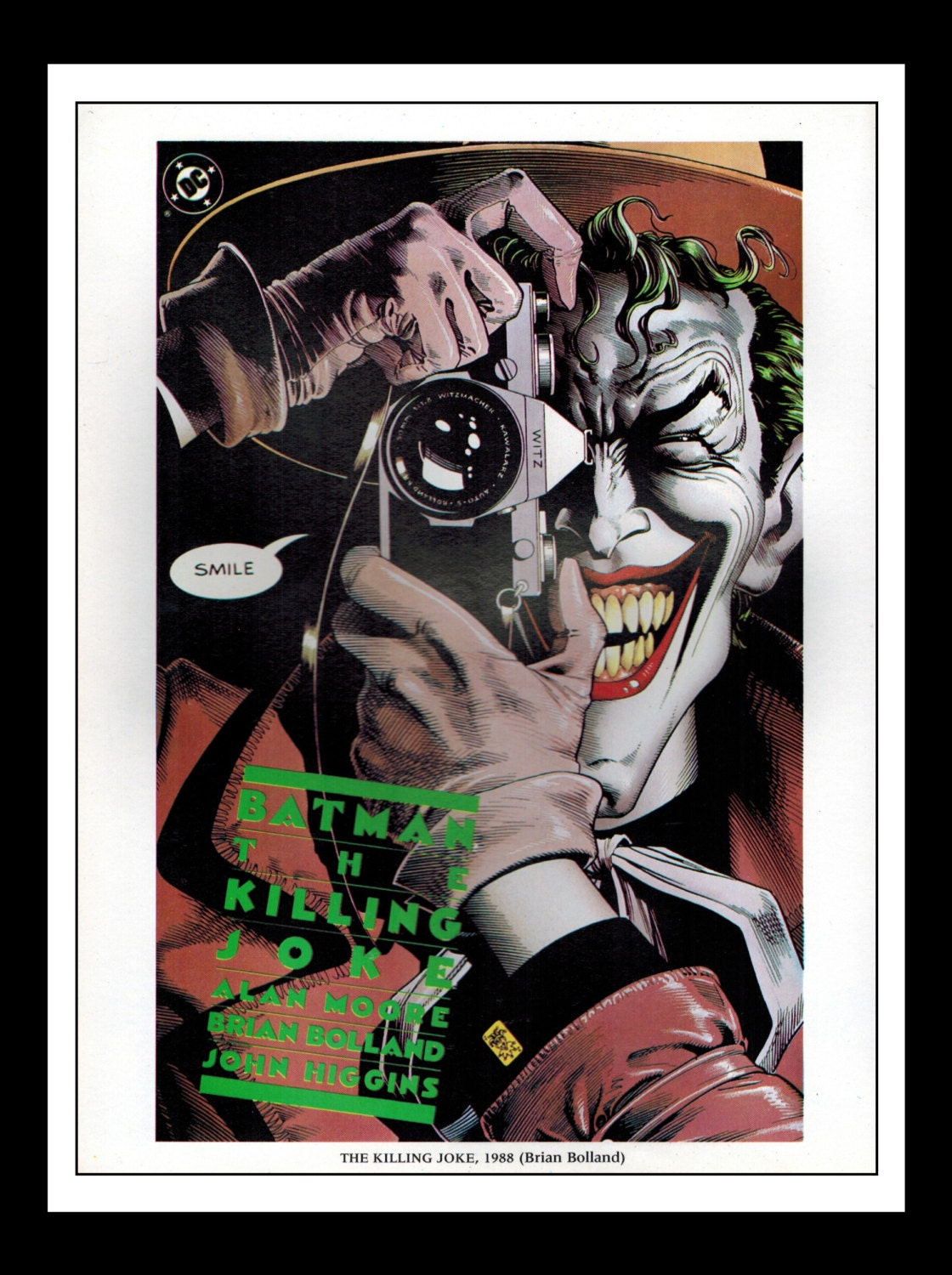 Classic comic book cover prints ~ vintage print ad comic book cover batman the killing joke