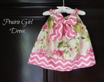 Baby Girl Floral Dress, Baby Shower Gift, Baby Girl Clothing, Baby Sun Dress