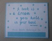 Dream Bookplate (6 per pack)