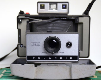 Land Camera, 320, Polaroid, Vintage Camera, Landcamera, instant camera