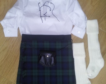 Boys Black Watch Kilt Outfit