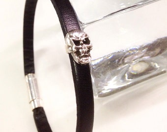 Small Skull bracelet in Silver 925 ‰